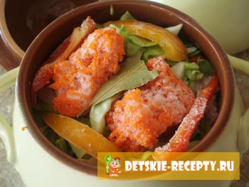 морковь и болгарский перец