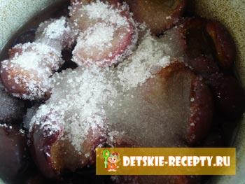рецепт сливового варенья