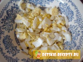 яйца для слоеного пирога