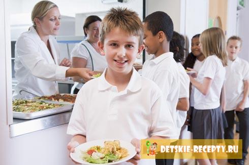 здоровое питание школьников