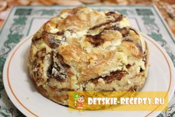 готовый торттик из блинов