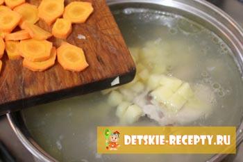 морковь для борща
