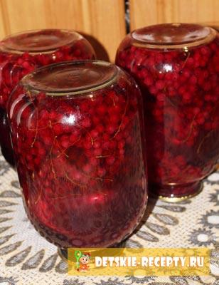 компот из смородины рецепт