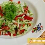 овощной салат на растительно масле