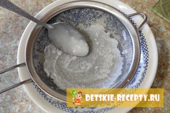 протертая рисовая каша