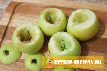 посуда из яблок