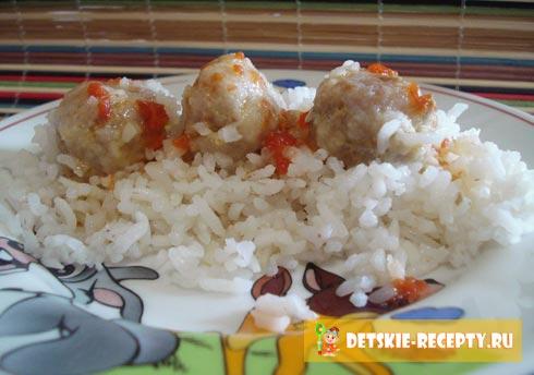 Как сделать фрикадельки из фарша с рисом для супа