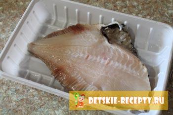 замораживаем рыбу палтус