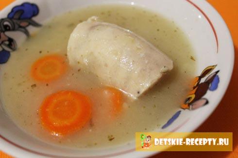 суп пюре из картофеля