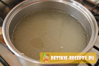 бульон для супа пюре