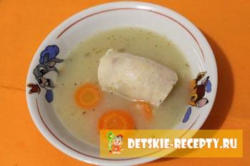 готовый суп пюре из картофеля