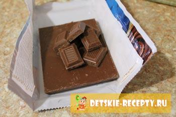 шоколад для кексов