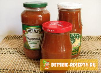 кетчуп приготовленный дома