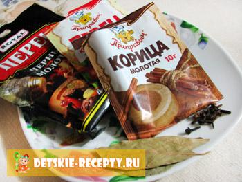 приправы для кетчупа