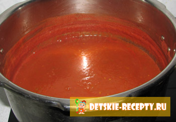 уваренный томатный кетчуп