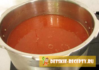 томатная жидкость