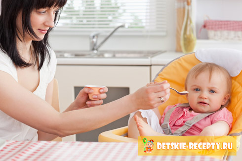 меню ребенка 7 месяцев