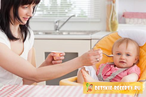 Рецепты малыша 6 месяцев