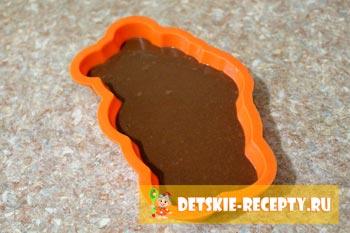 рецепт шоколадного мишки