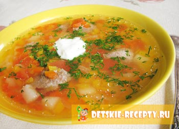 рецепт супа в горшочках