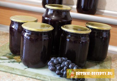 виноградный сок рецепт