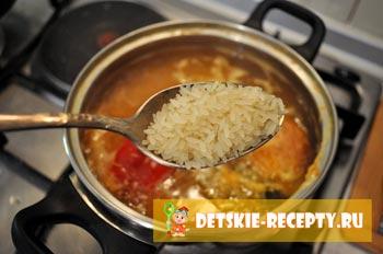 рис для быстрого супа