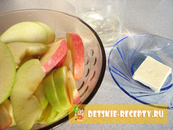 дольки яблок для запекания
