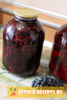 виноградный компот на зиму