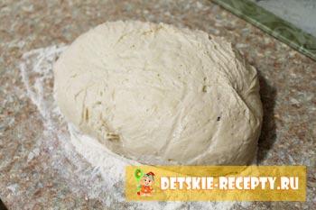 тесто для пирожков с повидлом