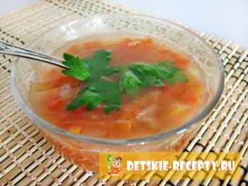 суп без картошки и мяса