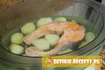 приготовление стейка лосося