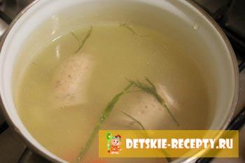 бульон для супа с сырками