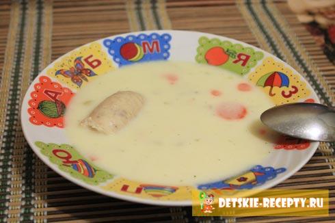 суп с плавленными сырками