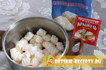 рецепт мастики для покрытия торта из маршелоу
