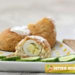 рыбные зразы с яйцом