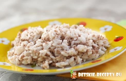 рисовая каша с мясом рецепт
