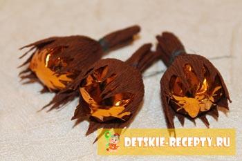 орешки из конфет