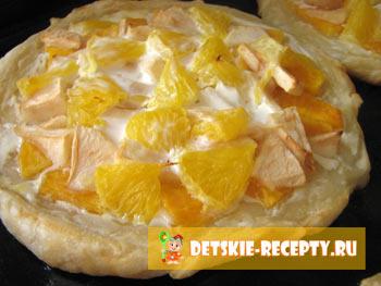 рецепт сладкой пиццы