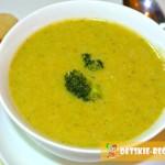 суп из брокколи и риса