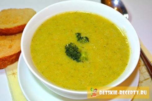рецепт супа с рисом для ребенка в 2 года