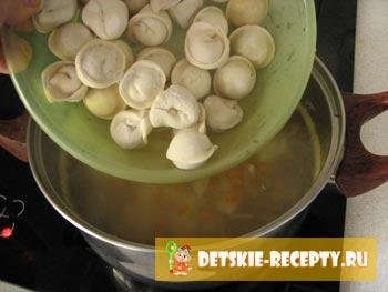 пельмени для супа