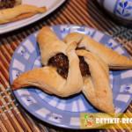 печенье вертушка с черносливом