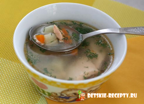 рецепты для красной рыбы суп