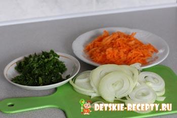 овощи для бешбармака