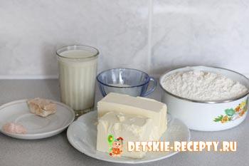 продукты для слоеного дрожжевого теста