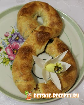 слоеный пирог с маком
