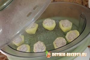 Картофель с мясом в пароварке рецепты
