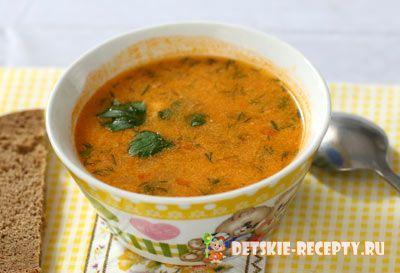 вегетарианский овощной суп