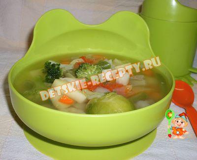 суп с индюшиной печенью
