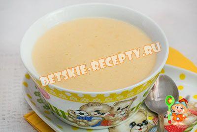 фруктовый суп пюре